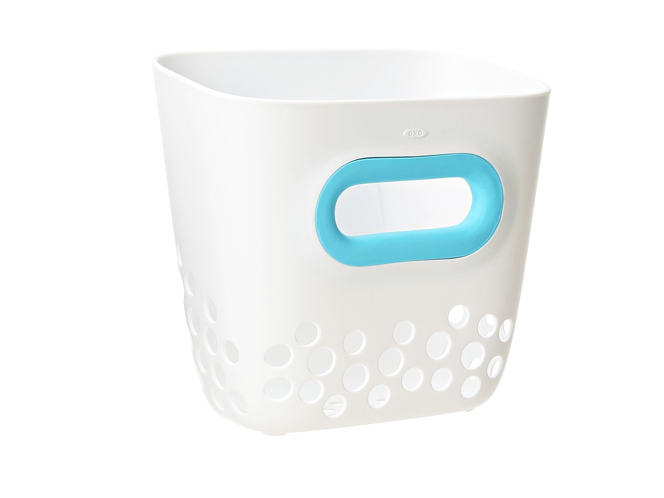 OXO Tot Bath Toy Bin Aqua Accessories Travel