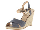Cole Haan - Hart Wedge (Denim/Ch Gold Specchio) - Footwear