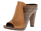 10 Crosby Derek Lam - Jiles (Brown Zebra Haircalf Print) - Footwear