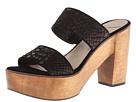 10 Crosby Derek Lam - Luanda Too (Black Matte Cut Snake Print Leather) - Footwear