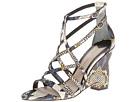 10 Crosby Derek Lam - Zanzibar (Yellow Tribal Snake Print Leather) - Footwear