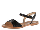 Cole Haan - Reed Woven Sandal (Black) - Footwear