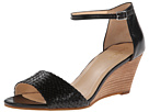Cole Haan - Rosalin Weave Wedge (Black) - Footwear