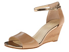 Cole Haan - Rosalin Wedge (Sandstone/Ch Gold) - Footwear