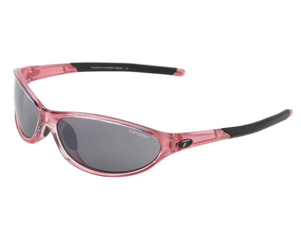 Tifosi Optics Alpetm 2.0 (Crystal Pink/Smoke Lens) Athletic Performance Sport Sunglasses