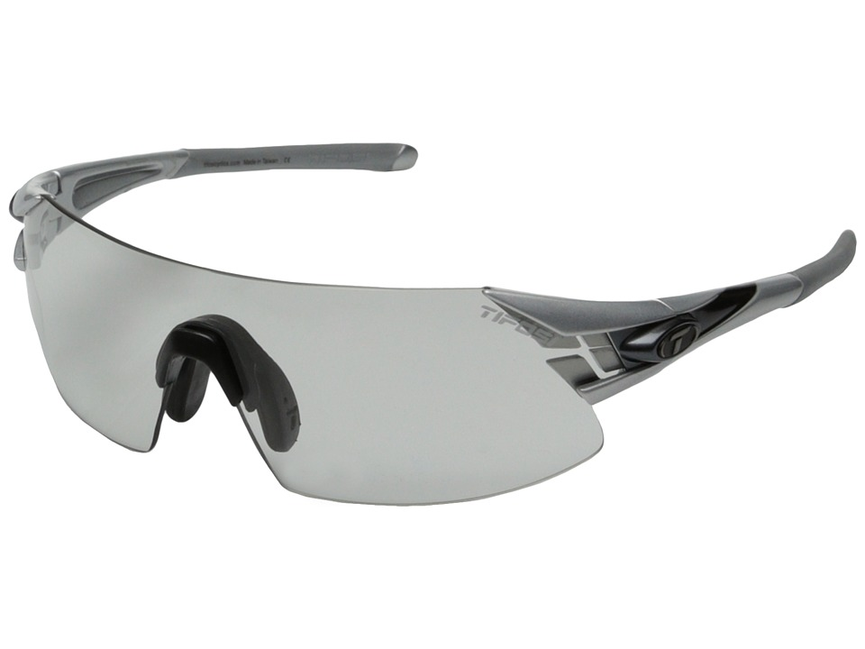 Tifosi Optics - Podiumtm XC Fototec - Light Night (Silver/Gunmetal) Athletic Performance Sport Sunglasses
