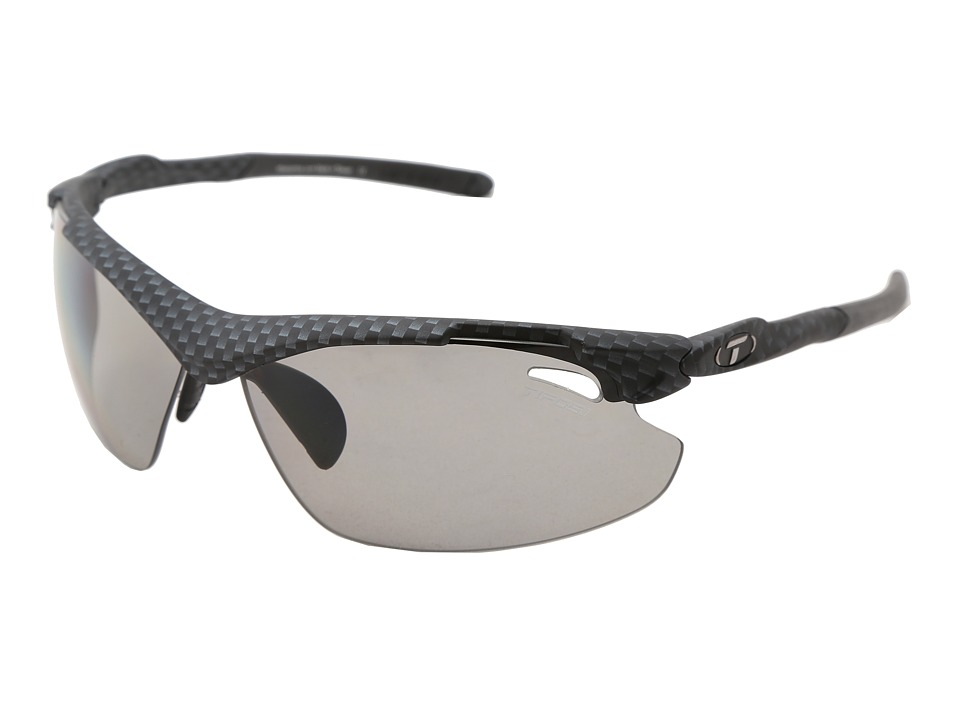Tifosi Optics - Tyranttm 2.0 Polarized Fototectm (Carbon/Smoke Polarized Fototec) Athletic Performance Sport Sunglasses