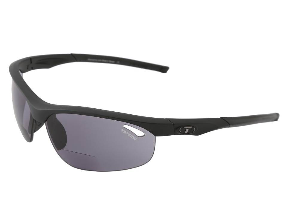 Tifosi Optics - Velocetm Reader (Matte Black/Smoke Reader/+2.0) Athletic Performance Sport Sunglasses