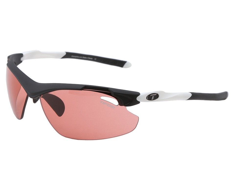 Tifosi Optics - Tyranttm 2.0 Fototec - High Speed Red (Black/White/High Speed Red Fototec Lens) Athletic Performance Sport Sunglasses