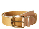 Cole Haan - Driving Belt (Natural/Natural Canvas) - Apparel