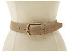 Cole Haan - Harrison Belt (Milkshake Suede) - Apparel