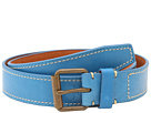 Cole Haan - Slim Roller Belt (Blue) - Apparel