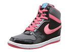 Nike - Force Sky High PRM Sneaker Wedge (Black/Cool Grey/Polarized Blue/Geranium)