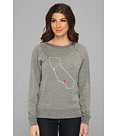 C&C California - Map Triblend Raglan Sweatshirt