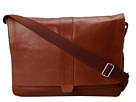 Cole Haan - Madison Collection Messenger (Mahogany) - Bags and Luggage