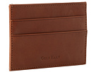Cole Haan - Madison Collection Card Case/Money Clip (Mahogany) - Bags and Luggage