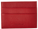 Cole Haan - Madison Collection Card Case/Money Clip (Velvet Red Saffiano) - Bags and Luggage