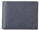 Cole Haan - Madison Collection Slim Billfold Wallet (Blazer Blue Saffiano) - Bags and Luggage