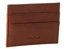 Cole Haan - Madison Collection Slim Card Case (Mahogany)