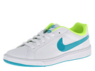 Nike - Court Majestic (White/Volt/Turbo Green)