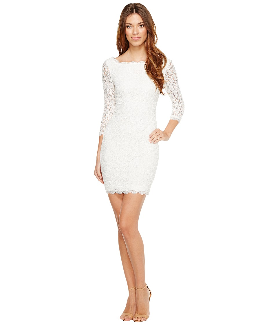 Adrianna Papell - L/S Lace Dress