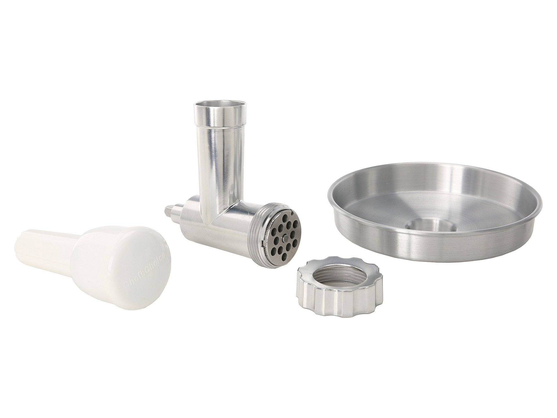 Chefs Choice Premium Metal Food Grinder Attachment 796 Designed For Kitchen Aid Stand Mixers