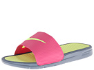 Nike - Benassi Solarsoft Slide (Vivid Pink/Night Fall/Volt Ice)