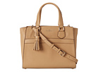 Cole Haan - Berkeley Small Satchel (Sandstone) - Bags and Luggage