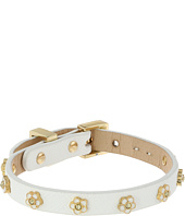 Juicy Couture - Daisy Stud Leather Bracelet