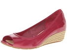 Cole Haan - Air Tali OT Wedge 40 (Raspberry Patent/Jute) - Footwear