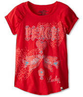 Lucky Brand Kids - Girls' Peace Doves Tee (Big Kids)