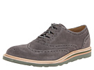 Cole Haan - Christy Wdg Ghilley (Dark Gull Grey Suede) - Footwear