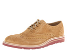 Cole Haan - Christy Wdg Ghilley (Camel Suede) - Footwear