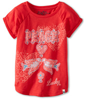 Lucky Brand Kids - Girls' Peace Doves Tee (Little Kids)