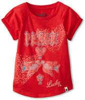 Lucky Brand Kids - Girls' Peace Doves Tee (Toddler)
