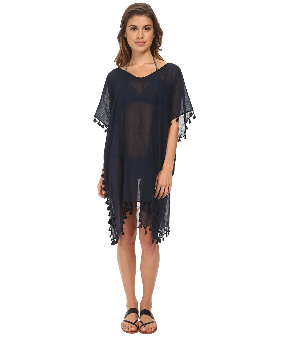 Seafolly Future Tribe Amnesia Kaftan Cover-Up (Indigo)