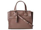 Cole Haan - Berkeley Patent Small Satchel (Bark Patent) - Bags and Luggage