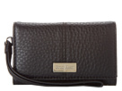 Cole Haan - Village New Tech Snap Wallet (Black) - Bags and Luggage