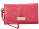 Cole Haan - Village New Tech Snap Wallet (Raspberry) - Bags and Luggage