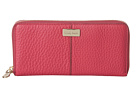 Cole Haan - Village Travel Zip Wallet (Raspberry) - Bags and Luggage