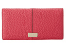 Cole Haan - Village Slim Wallet (Raspberry) - Bags and Luggage