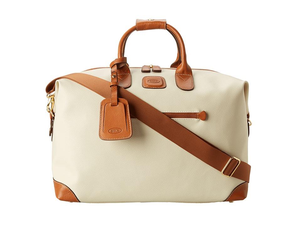 Brics Milano Firenze 18 Cargo Duffle Cream Duffel Bags