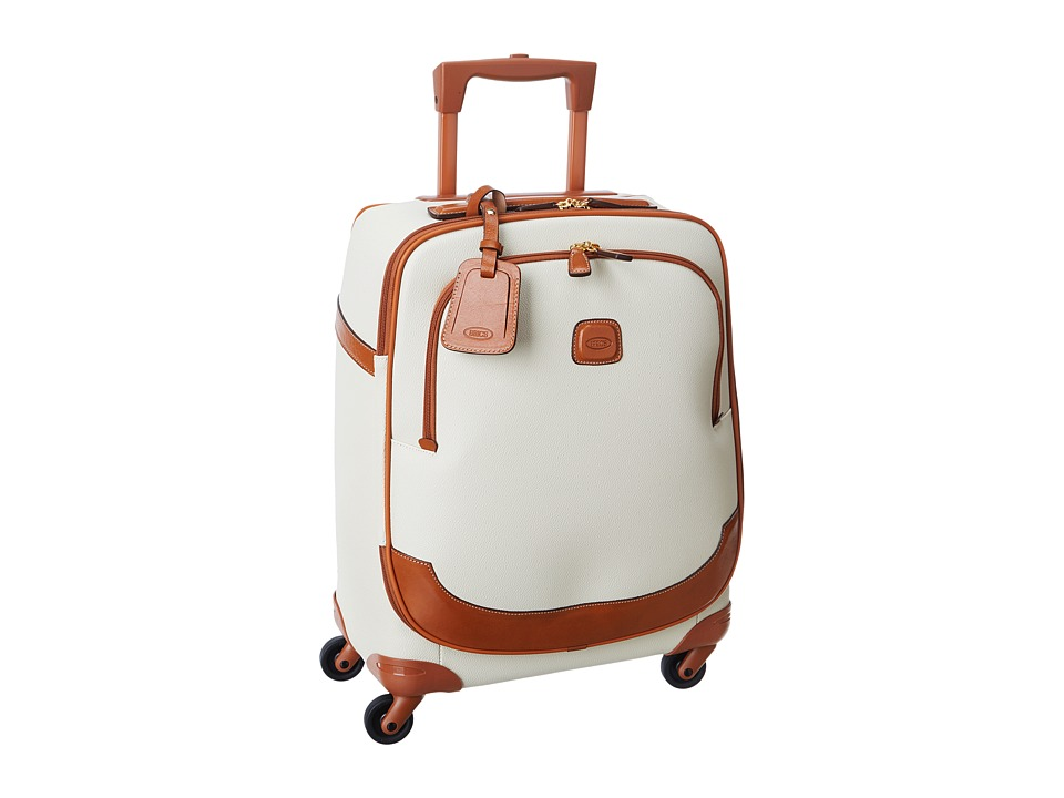 Brics Milano Firenze 21 Carry on Spinner Cream Carry on Luggage
