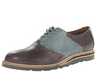 Cole Haan - Christy Wedge Saddle (Cloudburst/Grey Suede) - Footwear