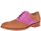 Cole Haan - Colton Saddle Welt (Woodbury Suede/Viola) - Footwear