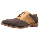 Cole Haan - Colton Saddle Welt (Coffee Suede/Woodbury) - Footwear