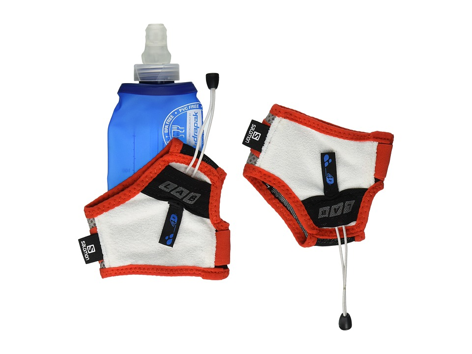 Salomon - Sense Hydro S-Lab Set (Aluminium/Racing Red) Backpack Bags