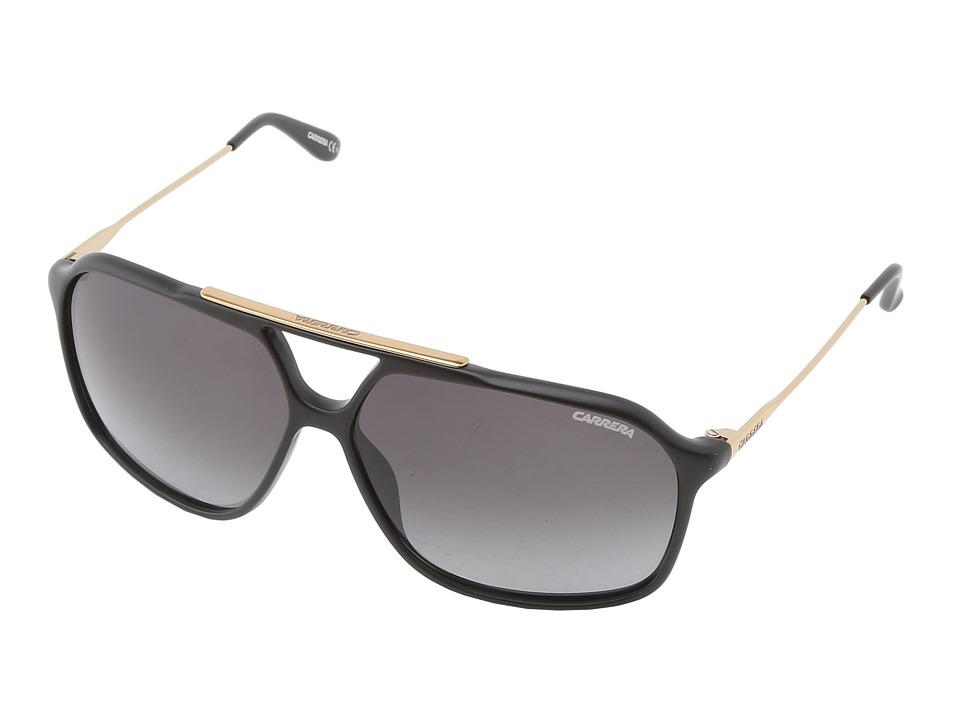Carrera - Carrera 81/S (Matte Black/Gray Gradient) Plastic Frame Fashion Sunglasses