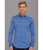 Moods of Norway - Classic Fit Kristian Vik Blue Oxford Shirt