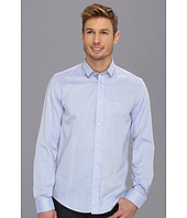 Moods of Norway - Slim Fit Arne Vik Blue Stripe Shirt